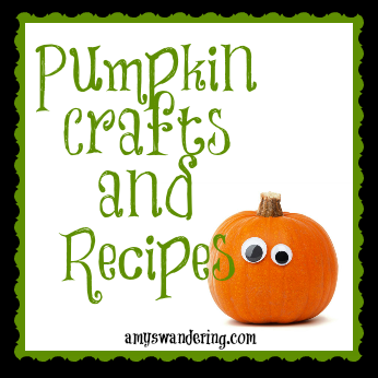 pumpkin crafts and recipes