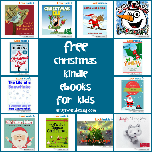 FREE Christmas Kindle eBooks for Kids
