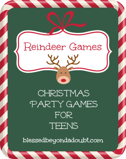 christmas-party-games-for-teens