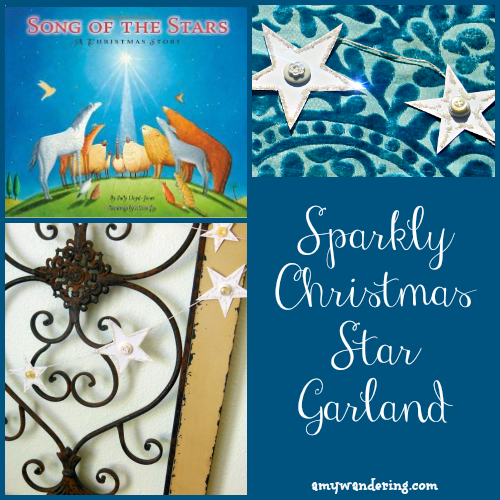 sparkly-christmas-star-garland