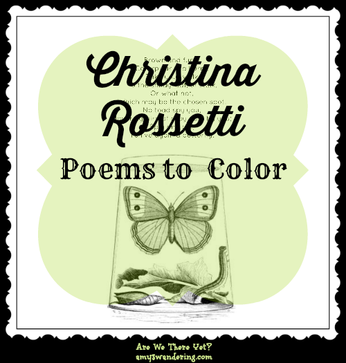 Christina Rossetti Poems to Color