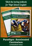 Paradigm Accelerated Curriculum for High School English