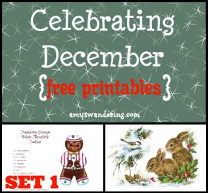 Celebrating December Set 1