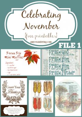 Celebrating November File 1