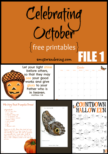 Celebrating October File 1