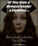Homeschool Graduation Ideas