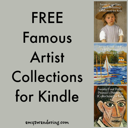 FREE Famous Artists for Kindle