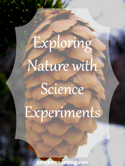 Exploring Nature with Science Experiments - add a little hands-on fun to your nature study