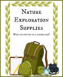 Nature Exploration Supplies