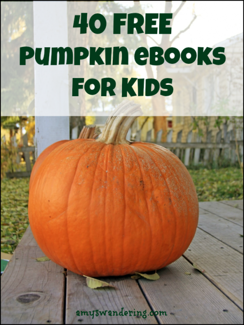 40 Free Pumpkin eBook for Kids