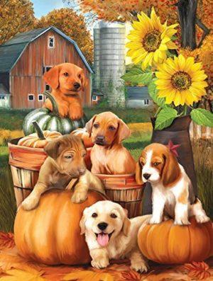 autumn-puppies-puzzle