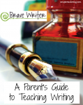 A Parent's Guide to Teaching Writing