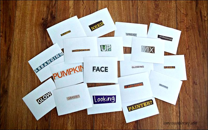 Brave Writer Word Cards