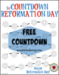 Reformation Day Countdown
