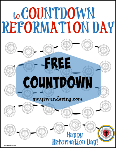 Free Reformation Day Countdown