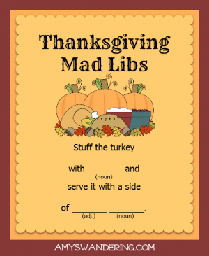 thanksgiving-mad-libs