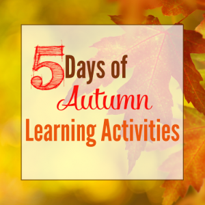 5 days of Autumn Learning