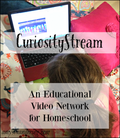 CuriosityStream - an educational video network for homeschool