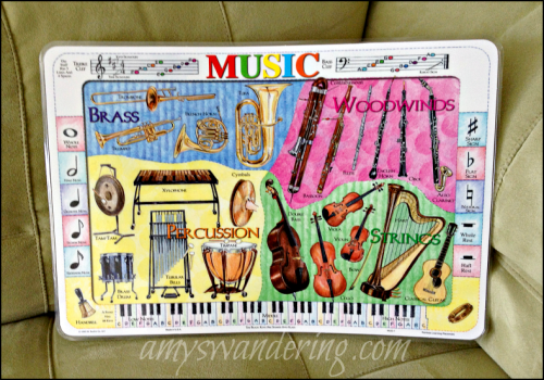 Music Placemat