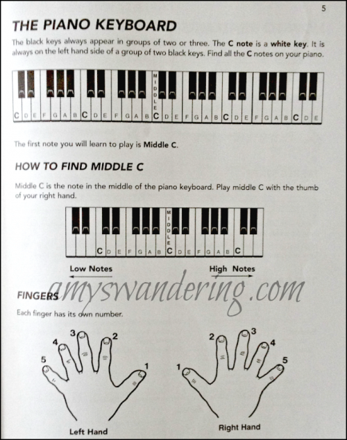 Progressive Beginner Piano Music