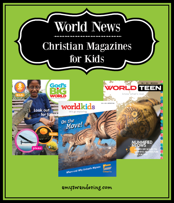 World News Magazines for Kids