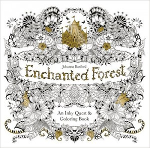 enchanted forest coloring