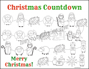 Christ in CHRISTmas Countdown