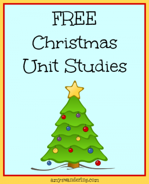 Free Christmas Unit Studies