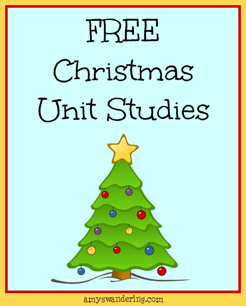Fun Christmas Resources for Your Homeschool - Amy\'s Wandering