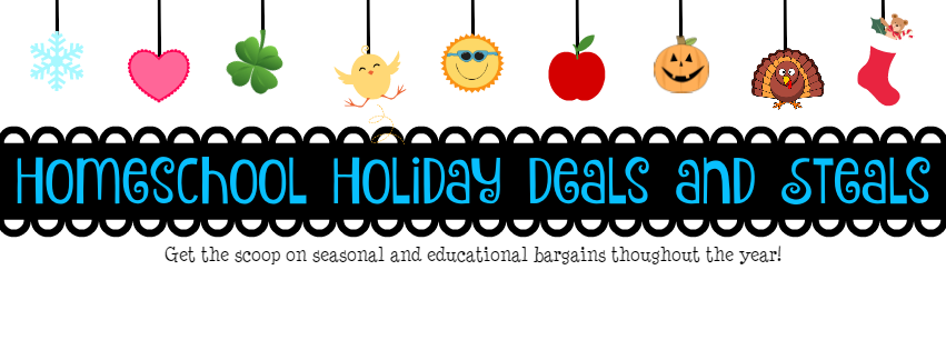 Homeschool Holiday Deals and Steals