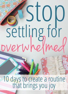 StopSettlingForOverwhelmed