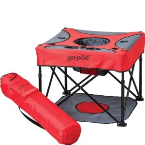 GoPod Portable Baby Activity Station - perfect for camping or outdoor activities