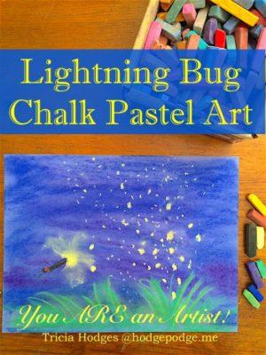 Lightning-Bug-Chalk-Pastel-Art-Tutorial