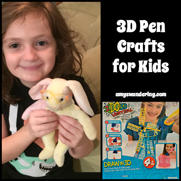 3D Pen Crafts for Kids with IDO3D