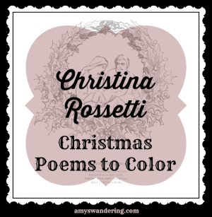 Christina Rossetti Christmas Poems to Study