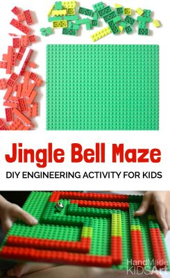 Jingle Bell Maze @ Handmade Kids Art