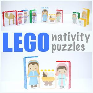 Nativity Puzzles @ I Can Teach My Child