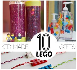 Kid Made Gifts @ Lemon Lime Adventures
