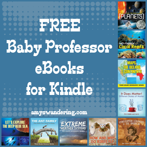 Free Baby Professor eBooks for Kindle