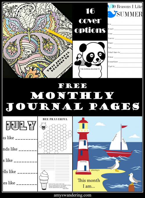 Free Writing Prompt Journal
