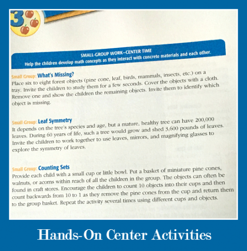 Hands On Center Activities