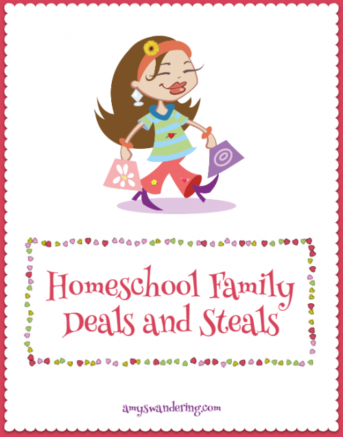 Homeschool Family Deals and Steals