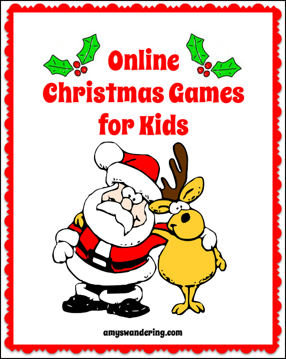 Online Christmas Games for Kids