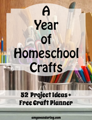 A Year of Homeschool Crafts