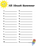All About Summer A to Z