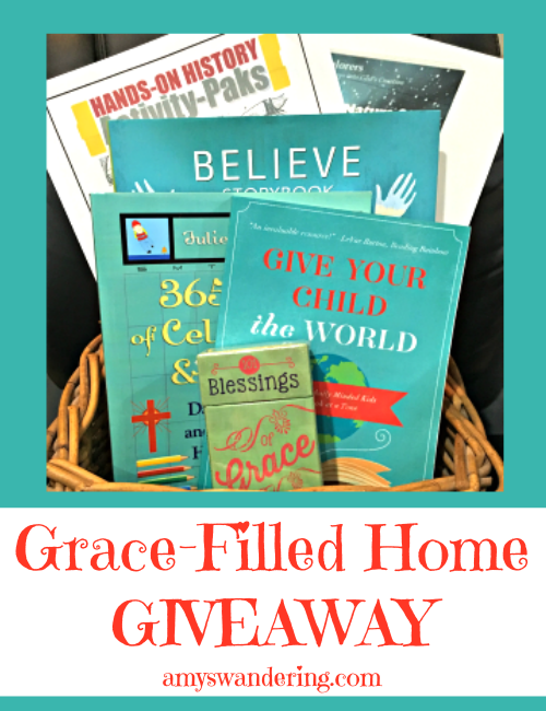 Grace Filled Home Giveaway