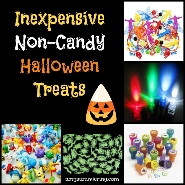 Inexpensive Non-Candy Halloween Treats