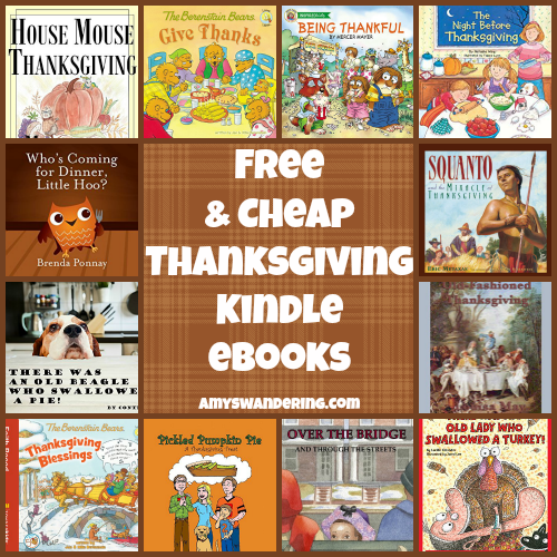 Free and Cheap Thanksgiving Kindle eBooks
