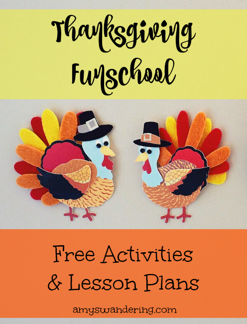 Free Thanksgiving Funschool Resources