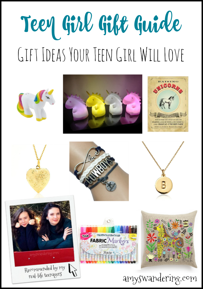 Teen Girl Gift Guide - gift ideas your teen girl will love!